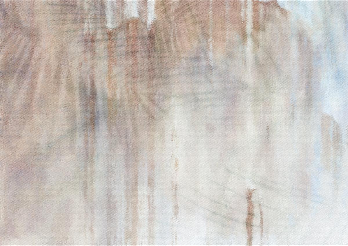 Carta da parati effetto tropical su intonaco artigianale per arredare muri con colori neutri