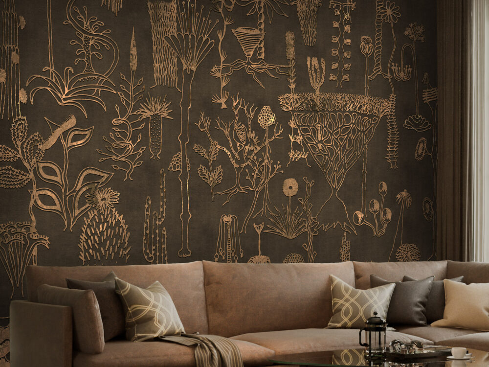 carta da parati design architecture wallpaper archiproducts materic art wall parati materici graphic