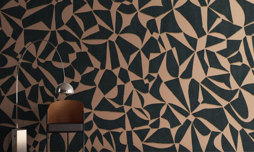 carta da parati design architecture wallpaper archiproducts materic art wall parati materici graphic